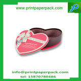 Embossing Printing Valentine's Heart Shape Gift Packaging Box Boîte de rangement de papier de chocolat