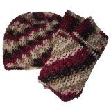 Belle couleur tricoté Hat et un foulard (JRK216)