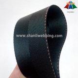 [45مّ] سوداء حسك رنك نيلون شريط منسوج