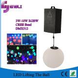 Bola de elevación LED del efecto cambiable del color para la plaza de interior de la etapa al aire libre