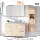 Vanité de salle de bain en bois massif en bois N & L