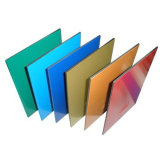 Matière composite en aluminium enduite de PE de protection de l'environnement
