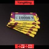 習慣によって印刷されるデザインポーカー用のチップのカジノのゲーム(YMCP007-008)