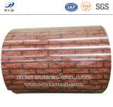SGS аттестовал катушку зерна древесины/кирпича стальную