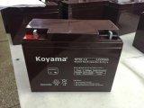 Le pouvoir fiable de la batterie 12V 50ah de la batterie 12V 50ah Yuaasa Np50-12 AGM d'UPS de qualité roule la batterie