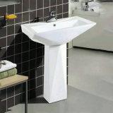 Washbasin постамента ванной комнаты фарфора