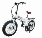 Gomma grassa della batteria nascosta 7 velocità che piega la bici di E/bici fuori strada grassa della sporcizia