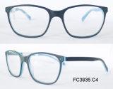 L'ovale à la mode encadre la lunetterie optique d'acétate