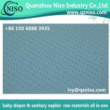 Nonwoven perforé hydrophile de film de matières premières des serviettes hygiéniques Topsheet