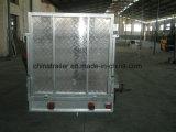 rimorchio della casella galvanizzato 7X5 con la gabbia