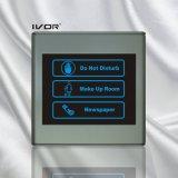 El panel de interior del sistema del timbre del hotel en el marco plástico del esquema (SK-dB2300SIN2-S)