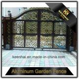 現代デザインアルミニウム私道のゲート
