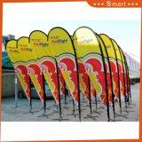 Promotion de l'usine Publicité extérieure Drapeau de plumes