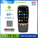 NFC (PDA3503)를 가진 인조 인간 OS 4inch 접촉 스크린 소형 PDA Barcode 스캐너