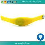 Waterproof Ntag213 RFID Custom Silicone Wristband
