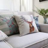Bom Toque roupa de algodão Western deite almofadas para sofá