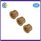 El sujetador no estándar Ronud Wear-Resistant cabeza plana funda de cobre/latón tornillos tuercas