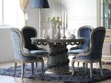 De luxe nam de Gouden het Schilderen Eettafel van het Roestvrij staal toe