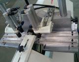 Le découpage de forme de v de machine de porte de guichet de PVC a vu
