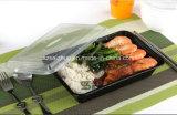 contenitore di alimento asportabile di plastica a gettare riciclato alta qualità 900ml (SZ-878)