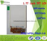 1.77 Bildschirmanzeige des Zoll-128*160 Spi 14pin TFT LCD