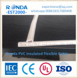 pvc van de koperkern isoleerde elektrodraadkabel