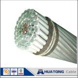 Câble à haute tension et fil pour le pigeon nu supplémentaire du fil ACSR 3/0 de distribution électrique de projet