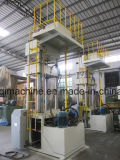 Cuatro columnas prensa hidráulica metal máquina troqueladora