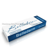 Заполнитель Derm Hyaluronic кислоты OEM Bellederm цены высокой безопасности хороший
