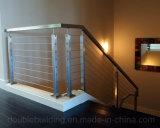 Балюстрада балкона Railing кабеля Proch нержавеющей стали