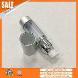 香水の包装のための銀製の空気のないポンプスプレーヤーのびん