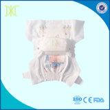 抱擁ゴムのベルトが付いている使い捨て可能な赤ん坊のおむつを甘やかしなさい