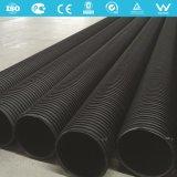 Tubo de drenaje de bobinado Plastic-Steel HDPE
