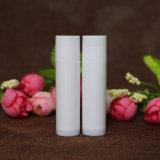 Graxa de lábio de tubo de bálsamo de lábio colorido com qualidade alimentar de 5 gramas