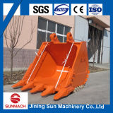 China Excelente All Kinds Excavator Attachments Zx360 Bucket
