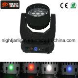 최신 판매 LED 19PCS*12W 급상승 LED 이동하는 맨 위 광속 빛