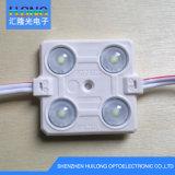 Cc12V resistente al agua de inyección de 5730 Módulo LED con lente de 3 años de garantía