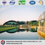 Ce modular construção de edifício Prefab Certificated do estádio da construção de aço