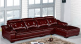 Mobília moderna da sala de visitas do sofá branco do couro da cor (HX-SL027)