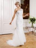 Платье просто мантии венчания lhbim сатинировки красотки Bridal