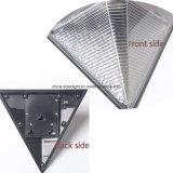 Lampada da parete solare dell'indicatore luminoso del percorso di Grey d'argento del triangolo