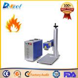 máquina del laser de la fibra 20W para el acero de madera plástico de la marca de la pluma para la venta