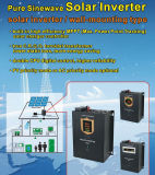 inversor solar puro de la onda de seno de la apagado-Red híbrida 1-5kVA con el regulador solar del cargador de 60A MPPT