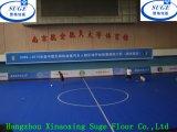 Reihe Farben, die den Innensport-Fußboden blockieren