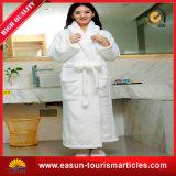 Roupão de banho profissional para fumaça para mulheres Roupão de microfibra personalizado Roupão não tecido