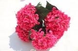 ホーム結婚式の卸し業者のための安い絹の人工花のアジサイの偽造品の花