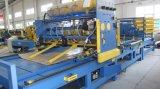 A linha de produção automática de paletes de madeira