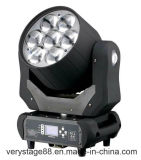 7 X 40 W+Haz Zoom+Lavar Cabezal movible LED LUZ