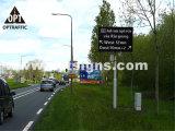 Optraffic OEM En 12966 Road Highway Controle de trânsito Sinais LED com controle remoto, mensagem LED Sign, Portable LED Sign