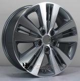 Rueda popular de la aleación del diseño de 17 pulgadas para Hyundai